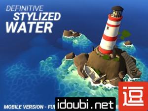 Unity3D 3d卡通游戏风格水特效Definitive Stylized Water V1 35-逗分享